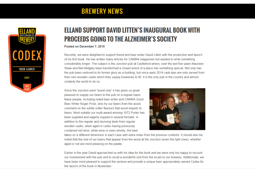 Brewery News